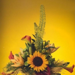 Букет цветов, Европейская флористика, цветочная мастерская Елизаветы Ястовой