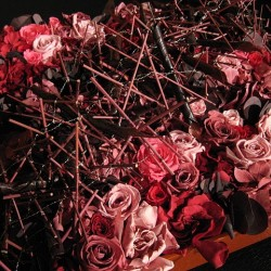 Стабилизированные цветы. Декоративная интерьерная композиция арт. STB0001