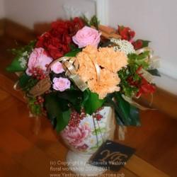 Стабилизированные цветы. Декоративная интерьерная композиция арт. STB0011