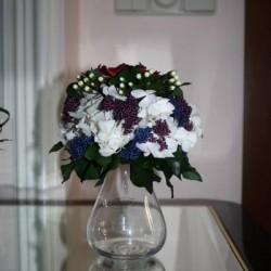 Стабилизированные цветы. Декоративная интерьерная композиция арт. STB0473