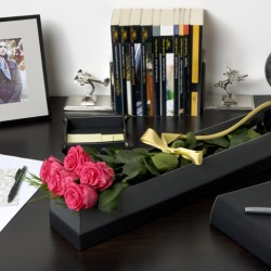 Стабилизированные цветы. Декоративная интерьерная композиция арт. STB1181