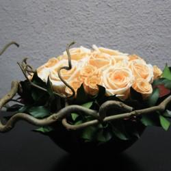 Стабилизированные цветы. Декоративная интерьерная композиция арт. STB1193