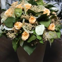 Стабилизированные цветы. Декоративная интерьерная композиция арт. STB1196