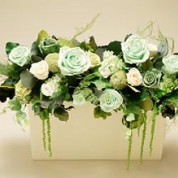 Стабилизированные цветы. Декоративная интерьерная композиция арт. STB1201