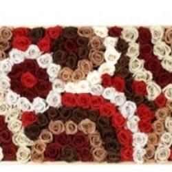 Стабилизированные цветы. Декоративная интерьерная композиция арт. STB1203