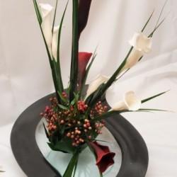 Стабилизированные цветы. Декоративная интерьерная композиция арт. STB1205