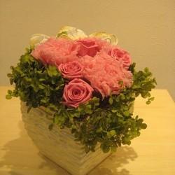 Стабилизированные цветы. Декоративная интерьерная композиция арт. STB1208