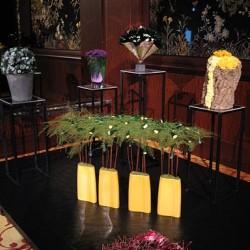 Стабилизированные цветы. Декоративная интерьерная композиция арт. STB1214