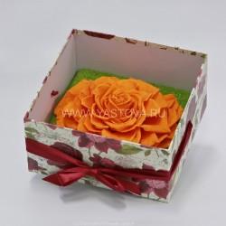 Стабилизированные цветы. Декоративная интерьерная композиция арт. STB1405
