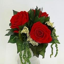 Стабилизированные цветы. Декоративная интерьерная композиция арт. STB2123