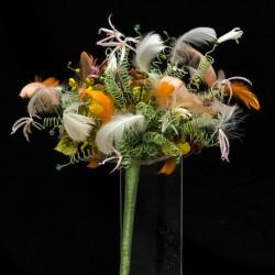 Экзаменационная работа, инновационный свадебный букет, Елизавета Ястова