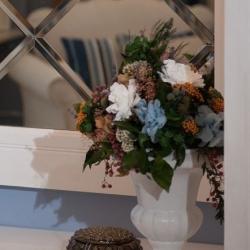 стабилизированные цветы для интерьера загородного дома
