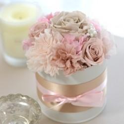 валентинки из стабилизированных цветов