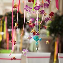 Гавайская вечеринка цветы. Оформление праздников цветами.
