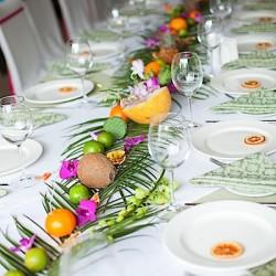 Гавайская вечеринка оформление стола. Детские вечеринки.