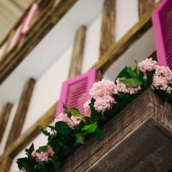 Оформление торгового зала цветами