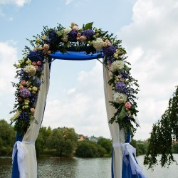 арка свадебная для морской свадьбы