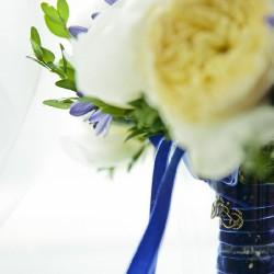 морской букет невесты