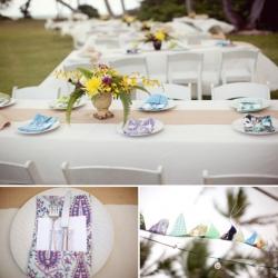 Свадебная флористика - Ванильная свадьба