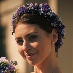 Венок невесты, свадебный венок